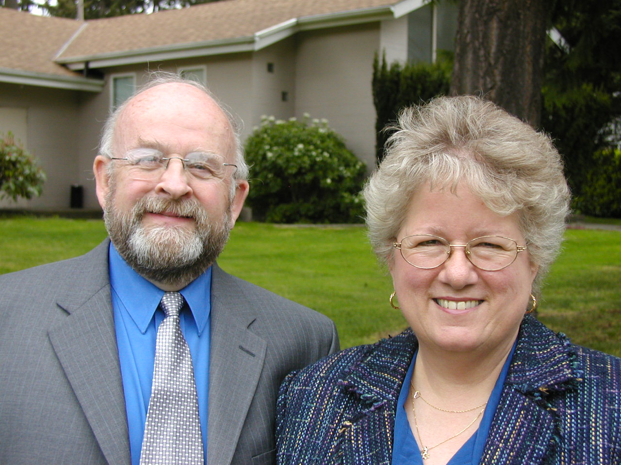 Pastor Dennis Plourde and wife Diane